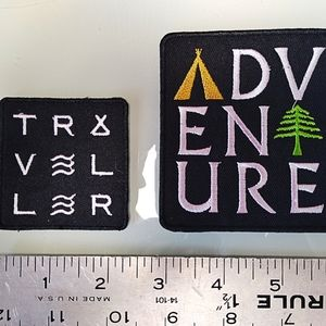 2 Outdoor Sew - Iron On Patches
